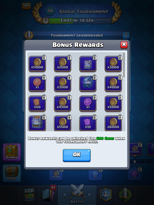 December Update #2: New Tournament System | Blog - RoyaleAPI - Clash